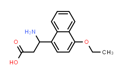3-Amino-3-(4-ethoxynaphthalen-1-yl)propanoic acid
