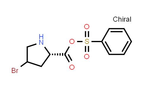 Benzenesulfonic (2S)-4-bromopyrrolidine-2-carboxylic anhydride