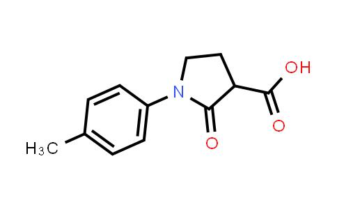 1-(4-Methylphenyl)-2-oxopyrrolidine-3-carboxylic acid
