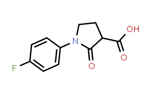 1-(4-Fluorophenyl)-2-oxopyrrolidine-3-carboxylic acid