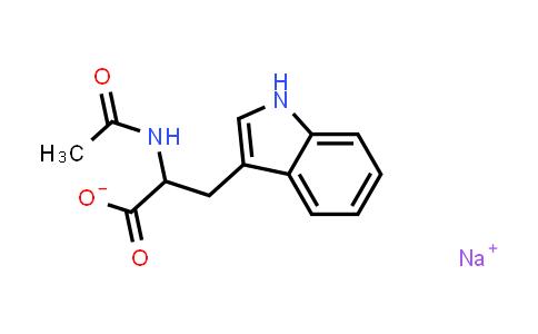 Sodium 2-acetamido-3-(1H-indol-3-yl)propanoate