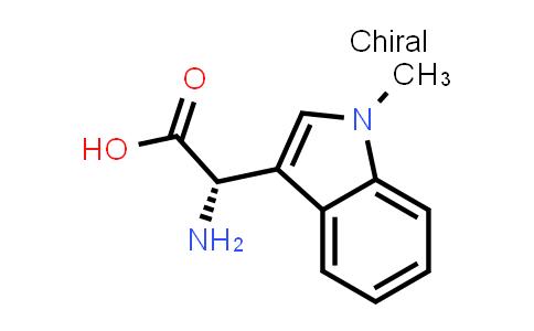 (S)-2-Amino-2-(1-methyl-1H-indol-3-yl)acetic acid