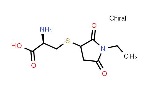 (2R)-2-Amino-3-((1-ethyl-2,5-dioxopyrrolidin-3-yl)thio)propanoic acid