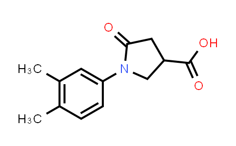 1-(3,4-Dimethylphenyl)-5-oxopyrrolidine-3-carboxylic acid