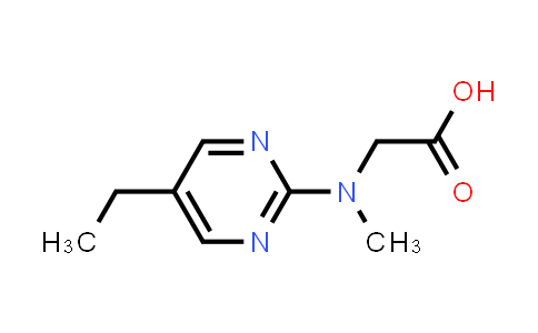2-((5-Ethylpyrimidin-2-yl)(methyl)amino)acetic acid