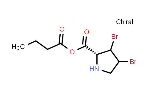 (2R)-3,4-Dibromopyrrolidine-2-carboxylic butyric anhydride
