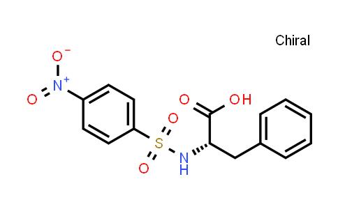 (S)-2-(4-Nitrophenylsulfonamido)-3-phenylpropanoic acid