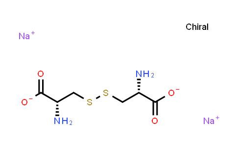 Sodium (2R,2'R)-3,3'-disulfanediylbis(2-aminopropanoate)