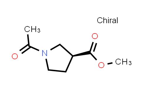 (S)-Methyl 1-acetylpyrrolidine-3-carboxylate