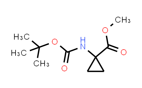 Methyl 1-((tert-butoxycarbonyl)amino)cyclopropanecarboxylate