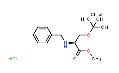 (S)-Methyl 2-(benzylamino)-3-(tert-butoxy)propanoate hydrochloride