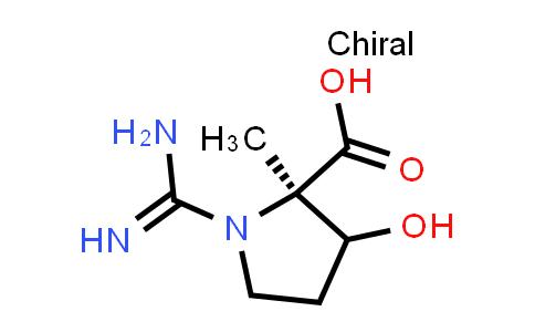 (2R)-1-Carbamimidoyl-3-hydroxy-2-methylpyrrolidine-2-carboxylic acid