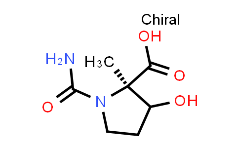 (2R)-1-Carbamoyl-3-hydroxy-2-methylpyrrolidine-2-carboxylic acid