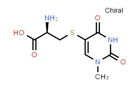 (R)-2-Amino-3-((1-methyl-2,4-dioxo-1,2,3,4-tetrahydropyrimidin-5-yl)thio)propanoic acid