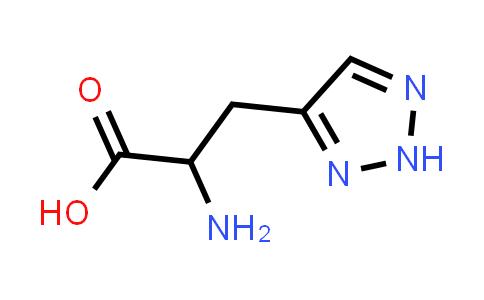 2-Amino-3-(2H-1,2,3-triazol-4-yl)propanoic acid