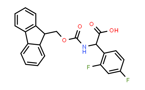 2-((((9H-Fluoren-9-yl)methoxy)carbonyl)amino)-2-(2,4-difluorophenyl)acetic acid