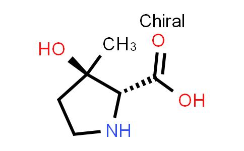 (2R,3R)-3-Hydroxy-3-methylpyrrolidine-2-carboxylic acid