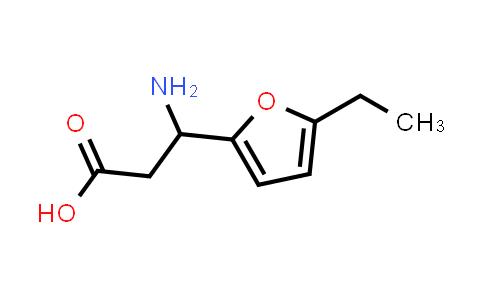 3-Amino-3-(5-ethylfuran-2-yl)propanoic acid