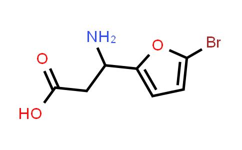 3-Amino-3-(5-bromofuran-2-yl)propanoic acid