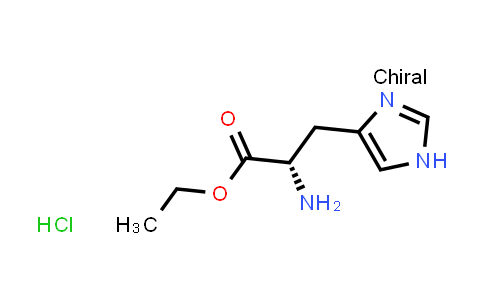 (S)-Ethyl 2-amino-3-(1H-imidazol-4-yl)propanoate hydrochloride