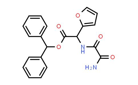 Benzhydryl 2-(2-amino-2-oxoacetamido)-2-(furan-2-yl)acetate
