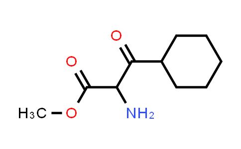 Methyl 2-amino-3-cyclohexyl-3-oxopropanoate