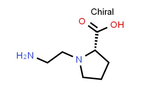 (S)-1-(2-Aminoethyl)pyrrolidine-2-carboxylic acid