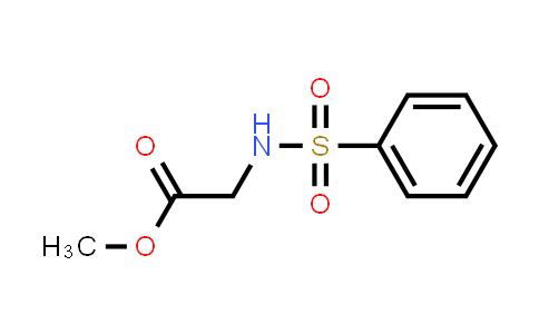 N-(Phenylsulfonyl)glycine Methyl Ester
