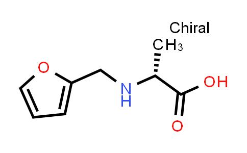 (R)-2-((Furan-2-ylmethyl)amino)propanoic acid
