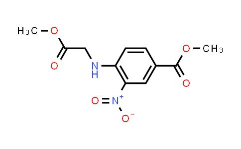 Methyl 4-((2-methoxy-2-oxoethyl)amino)-3-nitrobenzoate