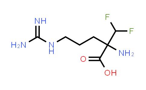 2-Amino-2-(difluoromethyl)-5-guanidinopentanoic acid