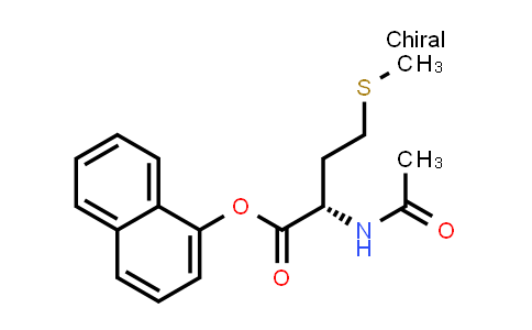 (S)-Naphthalen-1-yl 2-acetamido-4-(methylthio)butanoate
