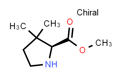 (S)-Methyl 3,3-dimethylpyrrolidine-2-carboxylate