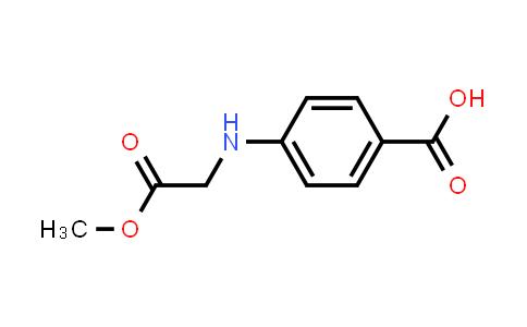 4-((2-Methoxy-2-oxoethyl)amino)benzoic acid