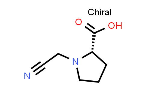 (S)-1-(Cyanomethyl)pyrrolidine-2-carboxylic acid