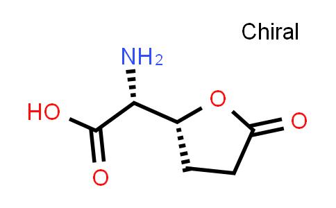 (R)-2-Amino-2-((R)-5-oxotetrahydrofuran-2-yl)acetic acid