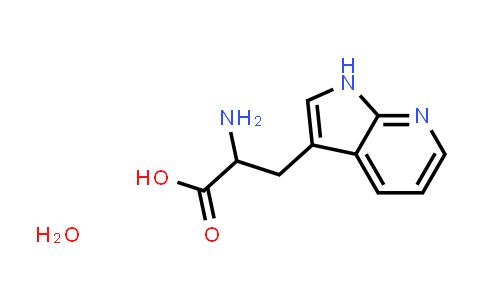 2-Amino-3-(1H-pyrrolo[2,3-b]pyridin-3-yl)propanoic acid hydrate