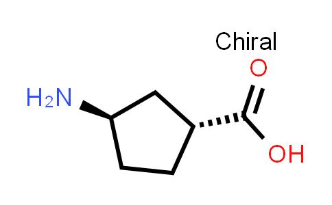 (1R,3R)-3-Aminocyclopentanecarboxylic acid