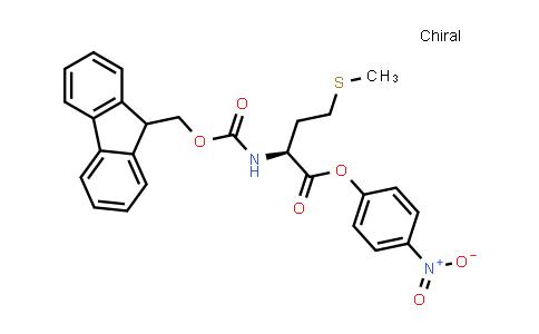 (S)-4-Nitrophenyl 2-((((9H-fluoren-9-yl)methoxy)carbonyl)amino)-4-(methylthio)butanoate