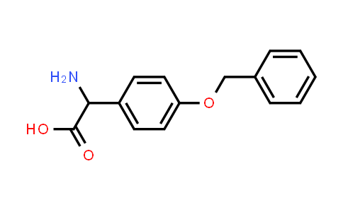 2-Amino-2-(4-(benzyloxy)phenyl)acetic acid