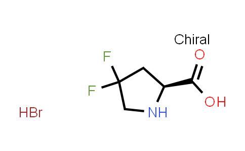 (S)-4,4-Difluoropyrrolidine-2-carboxylic acid hydrobromide