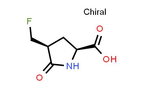 (2S,4S)-4-(Fluoromethyl)-5-oxopyrrolidine-2-carboxylic acid