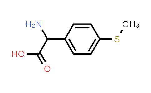 2-Amino-2-(4-(methylthio)phenyl)acetic acid
