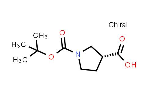 (R)-1-(tert-Butoxycarbonyl)pyrrolidine-3-carboxylic acid