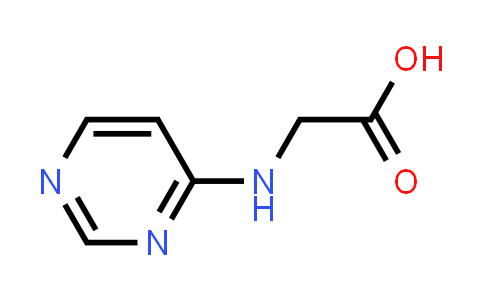 2-(Pyrimidin-4-ylamino)acetic acid