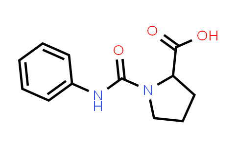 1-(Phenylcarbamoyl)pyrrolidine-2-carboxylic acid