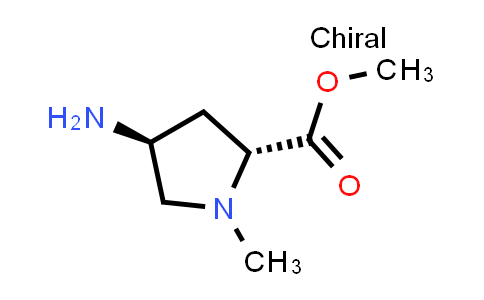 (2R,4S)-Methyl 4-amino-1-methylpyrrolidine-2-carboxylate