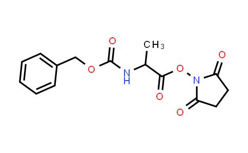 2,5-Dioxopyrrolidin-1-yl 2-(((benzyloxy)carbonyl)amino)propanoate