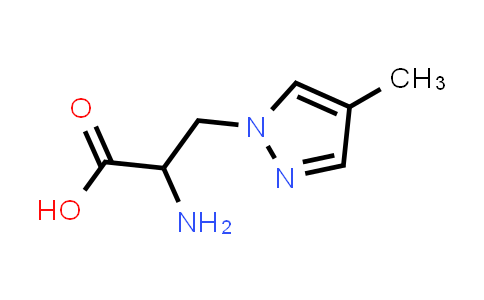 2-Amino-3-(4-methyl-1H-pyrazol-1-yl)propanoic acid