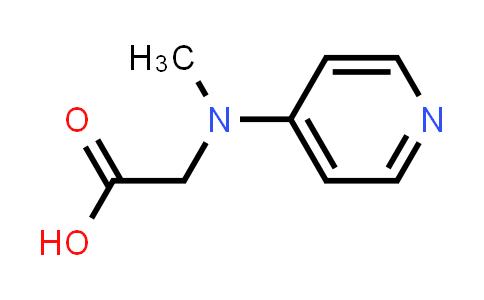 2-(Methyl(pyridin-4-yl)amino)acetic acid